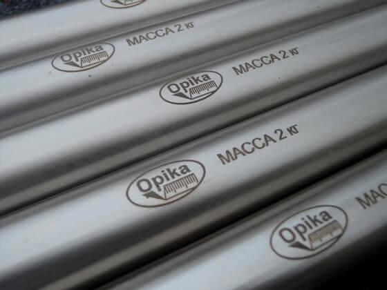 Нанесение логотипов на металлические изделия в Беларуси